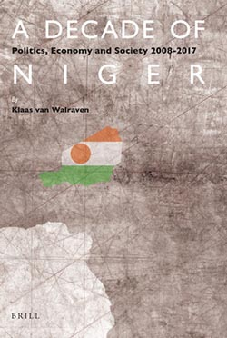 "book cover "" A decade of Niger"""