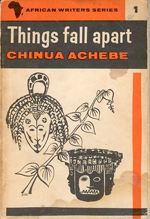 "cover of Chinua Achebe's book ""Things fall apart"""