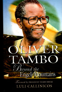 book cover Oliver Tambo: beyond the Egeli mountains