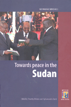 book cover Towards peace in the Sudan