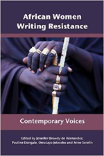 "book cover ""African women writing resistance"""