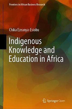 "book cover ""Indigenous knowledge and education in Africa"""