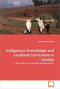 "book cover ""Indigenous knowledge and localised curriculum in Zambia"""