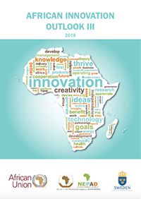 "book cover ""African innovation outlook"""
