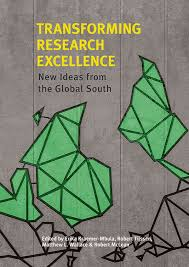 "book cover ""Transforming research excellence"""