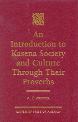 "book cover ""An introduction to Kasena society"""