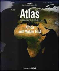 book cover 'Atlas : architectures of the 21st century Africa and the Middle East'