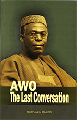 book cover 'Awo : the last conversation'