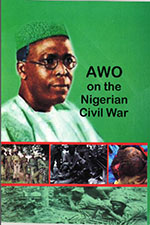 "book cover ""Awo on the Nigerian civil war'"