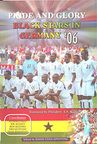 book cover 'Pride and glory : Black Stars in Germany '06'