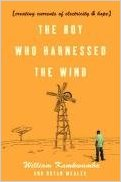 book cover: The boy who harnessed the wind