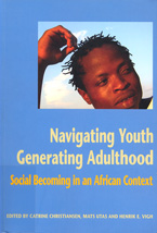 book cover Navigating youth generating adulthood