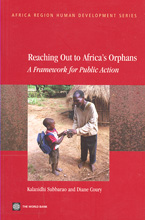 book cover Reaching out to Africa's orphans