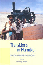book cover Transitions in Namibia