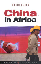 book cover China in Africa Chris Alden