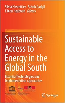 book cover 'ustainable access to energy in the Global South'