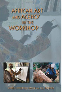 book cover 'African art and agency in the workshop'