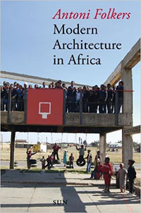 book cover 'Modern architecture in Africa'