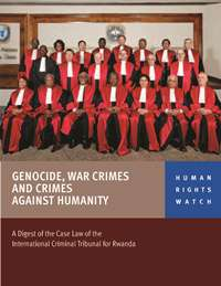 Book cover Genocide, war crimes and crimes against humanity