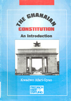 book cover The Ghanaian Constitution