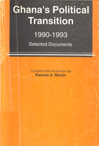 book cover Ghana's political transition 1990-1993