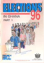 book cover Elections in Ghana 96