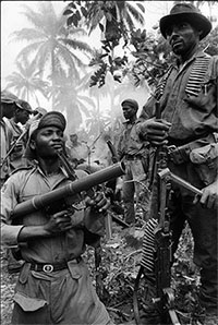 Igbo soldiers 1968 (Unknown photographer, source: http://www.igbofocus.co.uk)