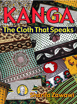 "book cover ""Kanga, the cloth that speaks"""