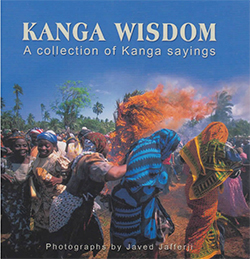 "book cover ""Kanga wisdom"""