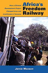 "book cover ""Africa's freedom railway"""
