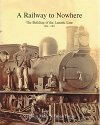 "book cover ""A railway to nowhere"""
