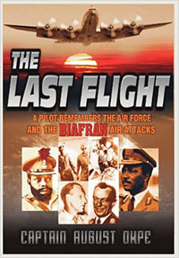 book cover 'The last flight'