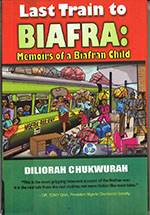 book cover 'The last train to Biafra'