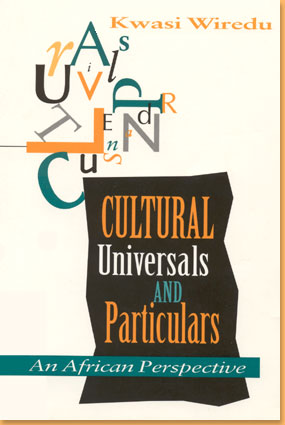 book cover Cultural universals and particulars