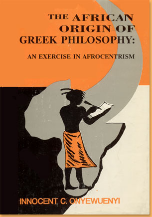 book cover The African origin of Greek philosophy