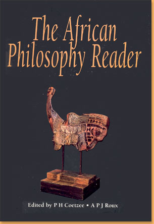 book cover The African philosophy reader