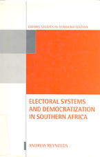 book cover Electoral systems and democratization in southern Africa