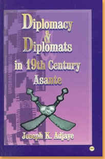 book cover Diplomacy & diplomats in 19th century Asante