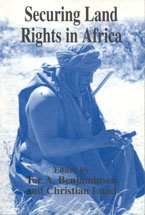 book cover Securing land rights in Africa