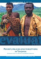 book cover Poverty, policies and perceptions in Tanzania