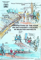 book cover Perspectives of the poor on anti-poverty policies