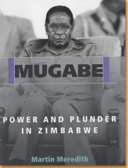 book cover Mugabe: power and plunder in Zimbabwe