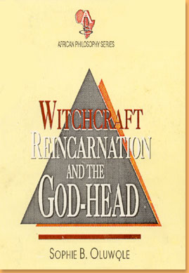 book cover Witchcraft, reincarnation and the God-head