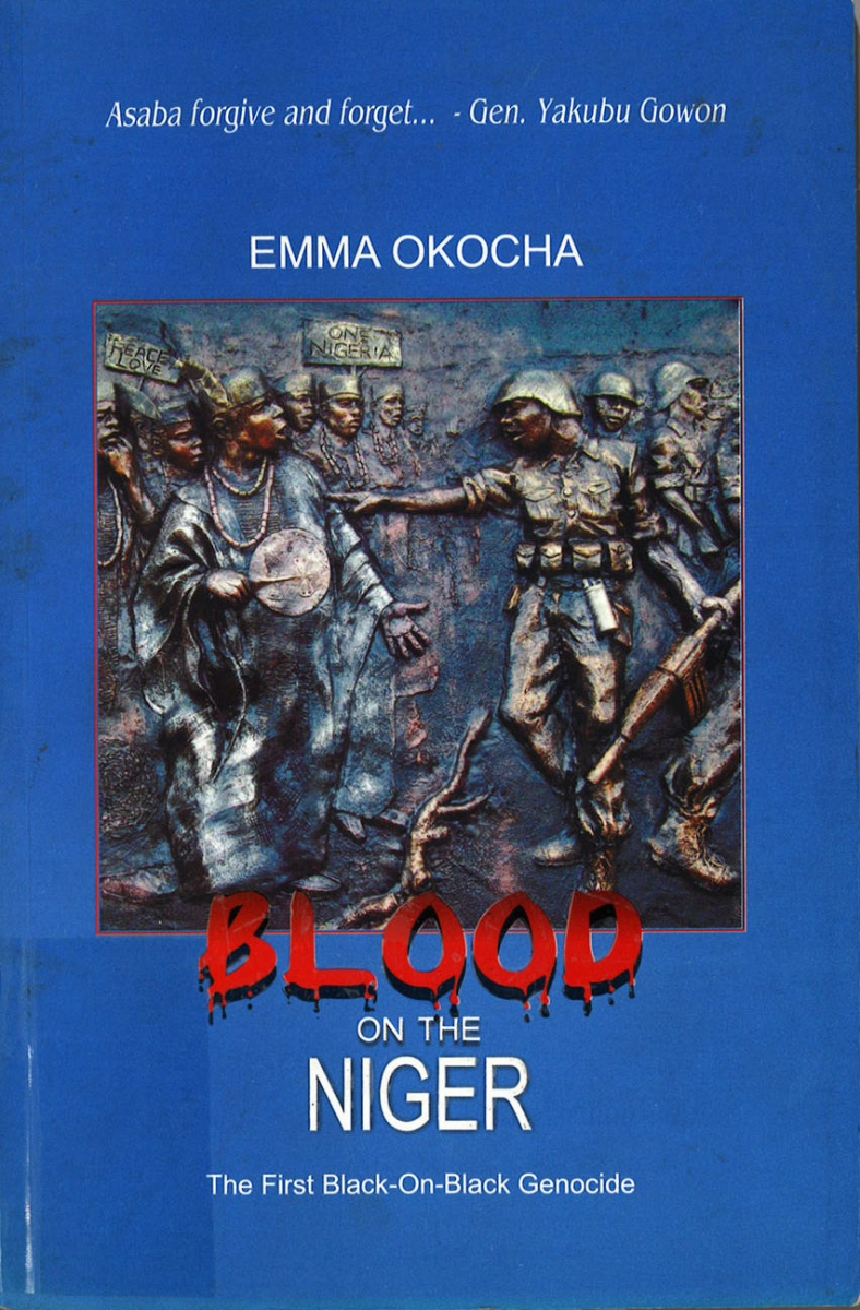 "book cover ""Blood on the Niger'"