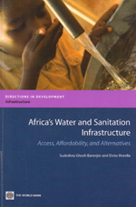 book cover Africa's water and sanitation infrastructure