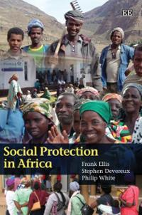 Book cover Social protection in Africa