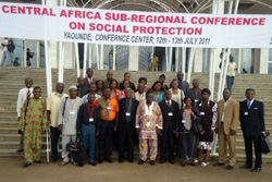 Central Africa Sub-regional Conference on Social Protection