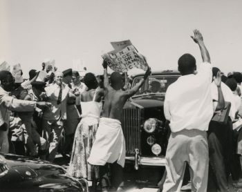 Visit of Iain Macleod, Secretary of State for the Colonies, to Northern Rhodesia in March 1960; demonstrations by the United National Independence Party (UNIP)