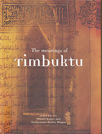 book cover 'the meanings of Timbuktu'
