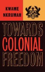 Cover towards colonial freedom